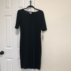 Lularoe Julia NWT Solid Black L